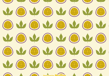 Free Passion Fruit Vector Background - vector gratuit #402881