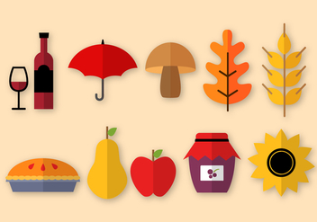 Free Thanksgiving Elements Vector - vector gratuit #402891