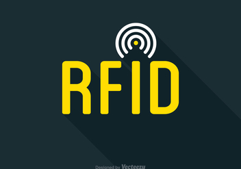 Free Vector RFID Tag Icon - vector gratuit #403091