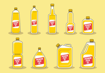 Free Palm Oil Vector - vector #403111 gratis