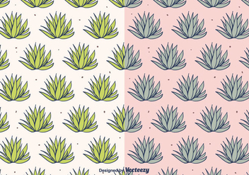 Maguey Vector Pattern - Free vector #403651