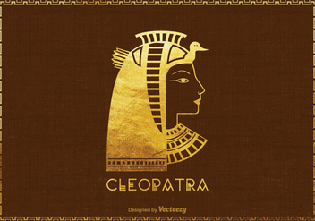 Free Vector Cleopatra Silhouette Illustration - Free vector #403691