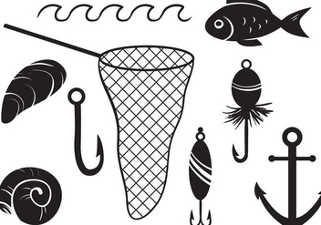 Free Fishing Vectors - vector gratuit #403821