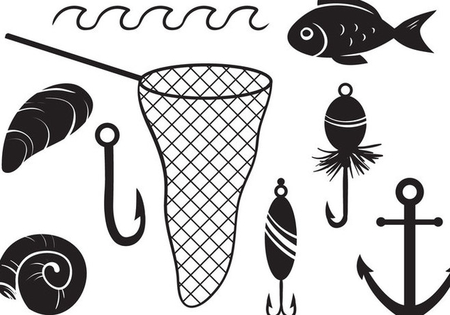 Free Fishing Vectors - Free vector #403821