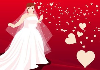 Married Women Vector Illustration - vector gratuit #403901