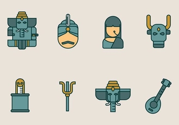 Indian Vector Icon Pack - Free vector #403981