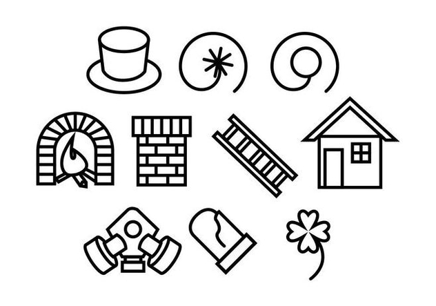 Free Chimney Sweep Vectors - Kostenloses vector #404031