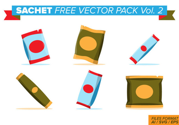 Sachet Free Vector Pack Vol. 2 - vector #404051 gratis