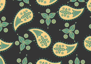 Ornament Of Cashmere Seamless Pattern - vector #404091 gratis