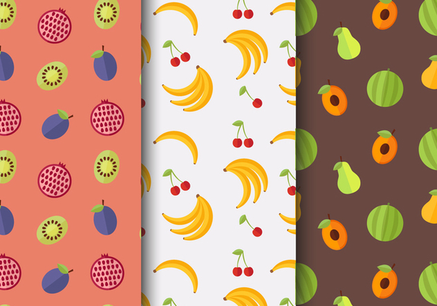 Free Fruit Pattern Vector - Free vector #404141