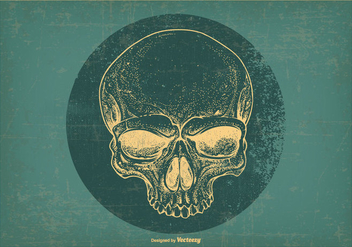 Retro Grunge Illustration - Free vector #404161