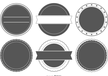 Blank Badge Shapes - Free vector #404221