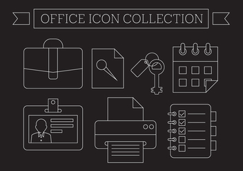 Free Office Icons - vector #404571 gratis