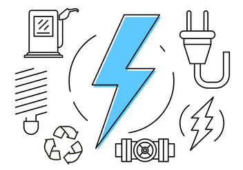 Free Energy Icons - vector #404601 gratis