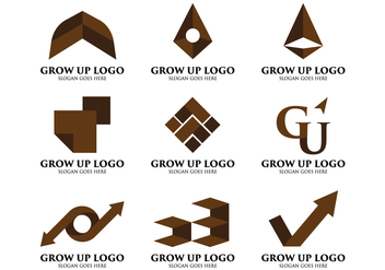 Grow Up Logo - Free vector #404711