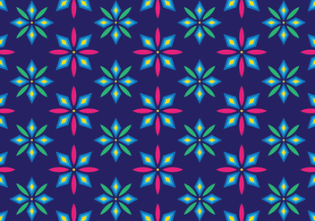 Traditional Songket Vector Pattern - vector #404801 gratis