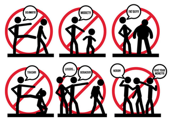 Bullying Vector - Free vector #404861