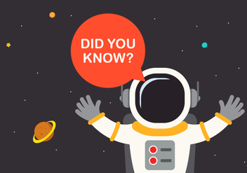 Trivia Spaceman and Spaceship Encyclopedia - Free vector #405031