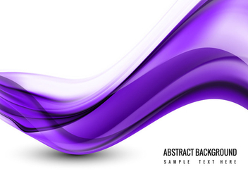 Free Vector Wave Background - Free vector #405171