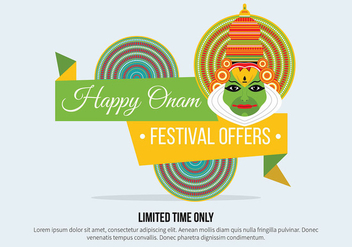 Onam Vector Background - Free vector #405421