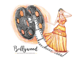 Free Bollywood Background - vector #405931 gratis