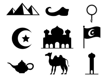 Free Arabian Nights Vector - Kostenloses vector #406031