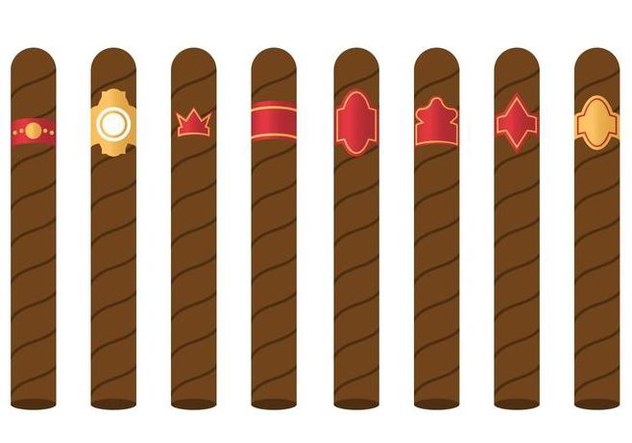 Free Cigar Label Vector - Free vector #406101