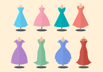 Free Bridesmaid Vector Collection - Kostenloses vector #406241
