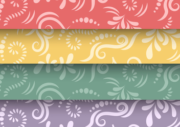 Traditional Maori Vector Borders and Patterns - vector gratuit #406471
