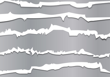 Metallic Tracks Through Vector Illustration - Free vector #406481