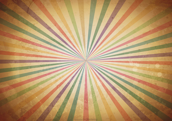 Old Grunge Sunburst Background - Free vector #406681