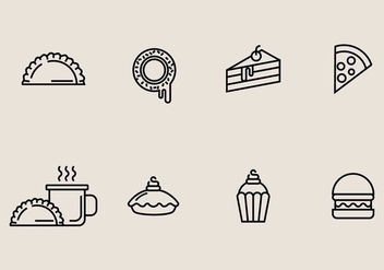 Baked Sweets Icon - vector gratuit #406851