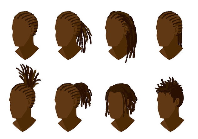 Dreads Style Free Vector - Free vector #406991