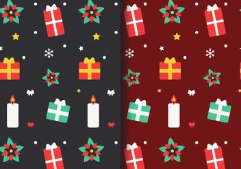 Free Christmas Pattern Vector - vector gratuit #407281