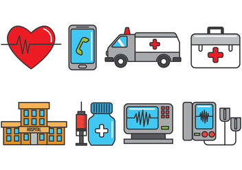 CPR Icons - Free vector #407941