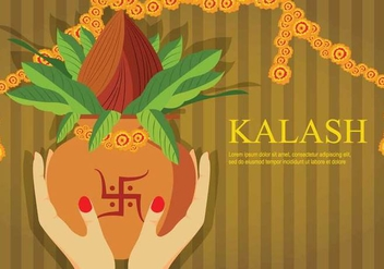 Free Kalash Illustration - Free vector #408061