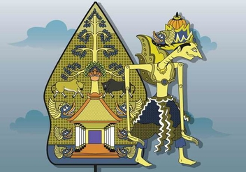 Free Wayang Illustration - Free vector #408081