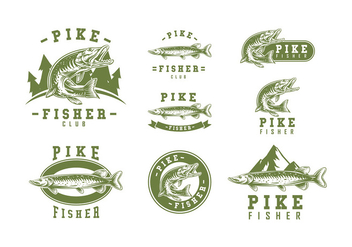 Pike Logo Vector - бесплатный vector #408161