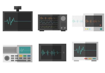 Free Heart Monitor Vector - бесплатный vector #408331