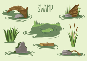 Free Swamp Vector - Free vector #408561