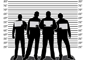 Mugshot illustration with people - Free vector #408861