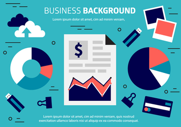 Free Business Background Vector - vector gratuit #409061