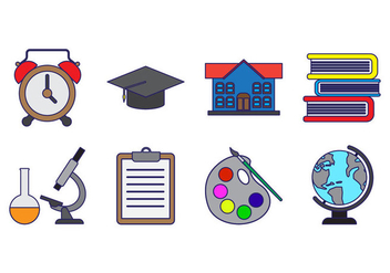 Free Education Icon Vector - Kostenloses vector #409311