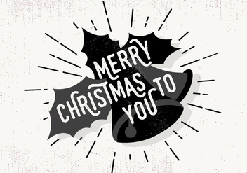 Free Christmas Greeting Card - vector gratuit #409421