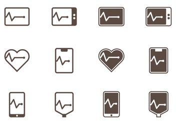Flatline Icons - Free vector #409521