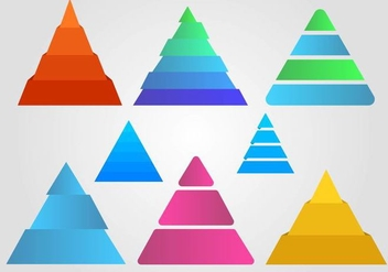 Free Piramide Infographic Vector - Free vector #409621