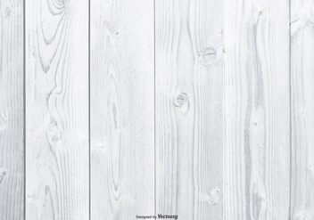 White Wood Background - vector #409931 gratis