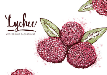 Free Lychee Background - Free vector #410061