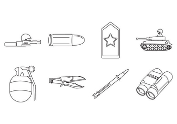 Free Army Icon - Free vector #410311