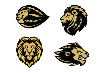 Free Lion Vector - Free vector #410481